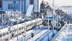 9 کشته در تصادف قطار مسافری