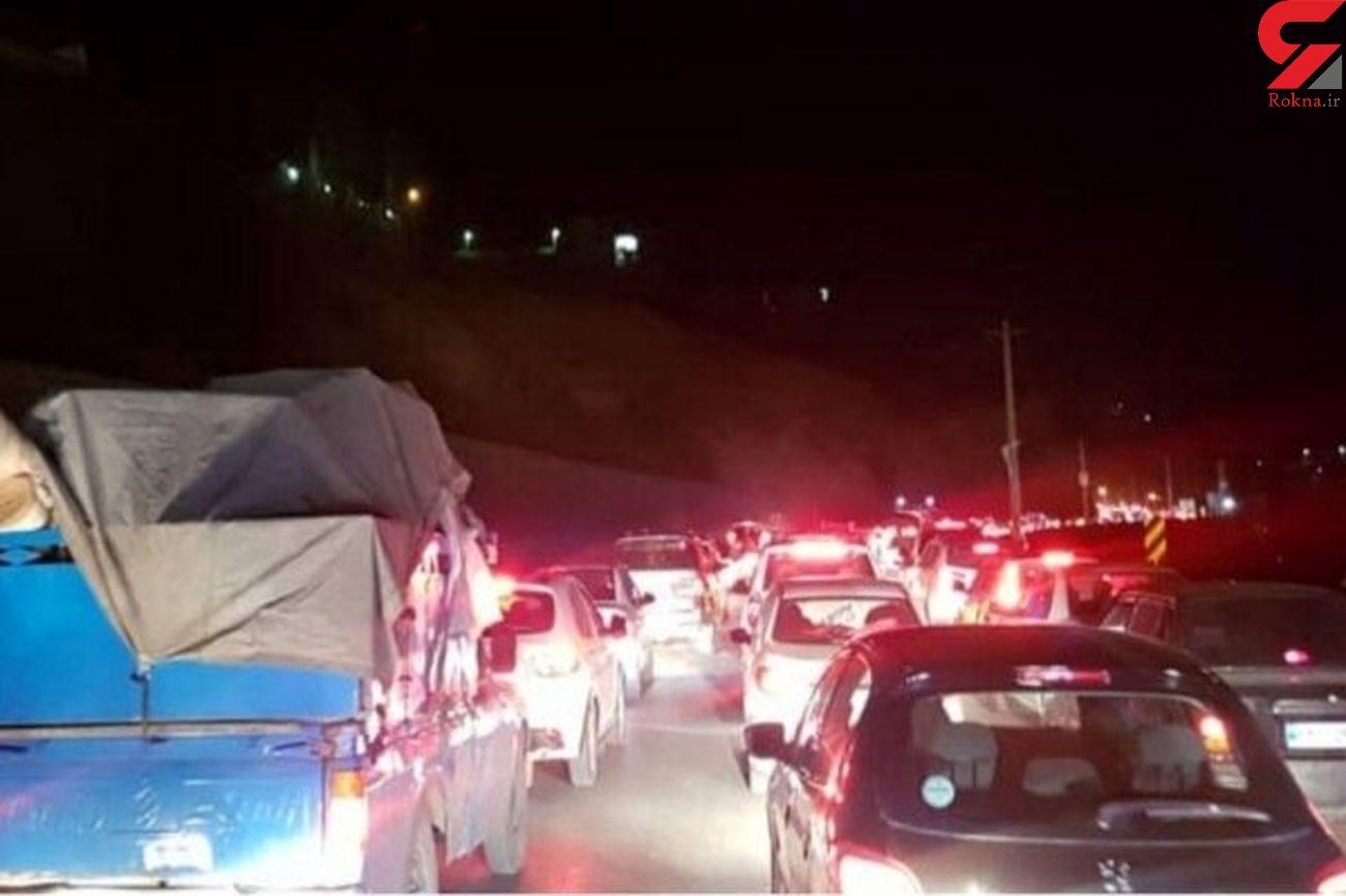 ترافیک سنگین در محور چالوس و آزادراه تهران – کرج