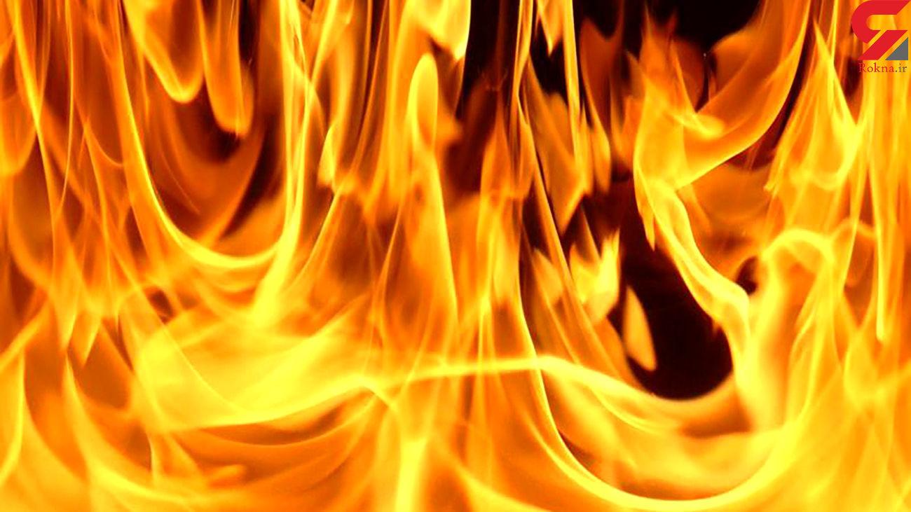 آتش نشانان برای نجات مادر و کودک آبادانی دل به آتش زدند + فیلم