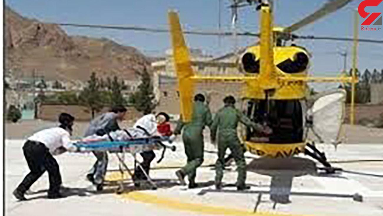 ریزش معدن در بجستان / اورژانس هوایی به داد کارگران رسید