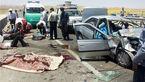 ۳ کشته و ۲ مصدوم حاصل برخورد پراید با وانت پیکان در زنجان
