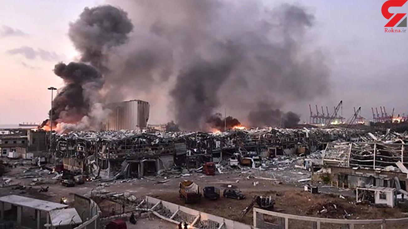 تعداد مفقودشدگان انفجار بیروت مشخص شد