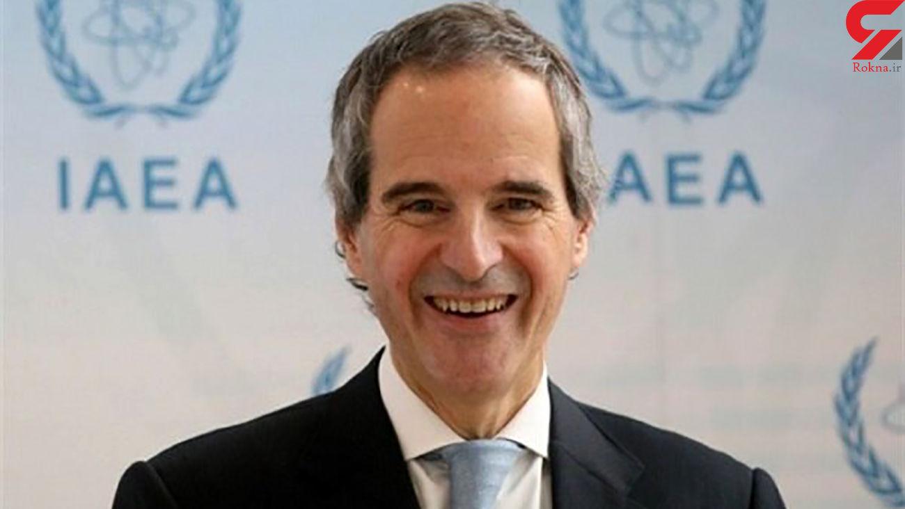گروسی: توافق امروز با ایران یکی از مهمترین مسائل آژانس با ایران را حل کرد