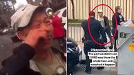 رفتار نژادپرستانه دو مرد با پیرمرد ضایعاتی + فیلم