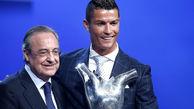 پرز: رونالدو در توپ طلا از مسی جلو خواهد زد