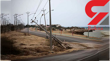 خسارت میلیاردی تندباد به شبکه برق شوشتر