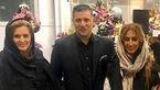 اختلاف سنی فوتبالیست ایرانی و آقای گل جهان با همسر دوم و جوانش + عکس