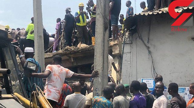 ریزش ساختمان یک مدرسه در نیجریه/بیش از ۱۰۰ نفر زیر آوار گرفتار شدند