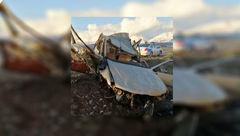 دو کشته و یک مصدوم به دنبال واژگونی خودرو پژو ۴۰۵