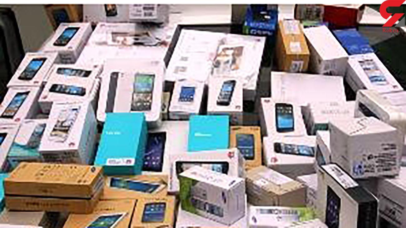 کشف 7 میلیاردی گوشیهای قاچاق در پایتخت