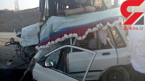 4 کشته و زخمی در تصادف پراید و مینیبوس