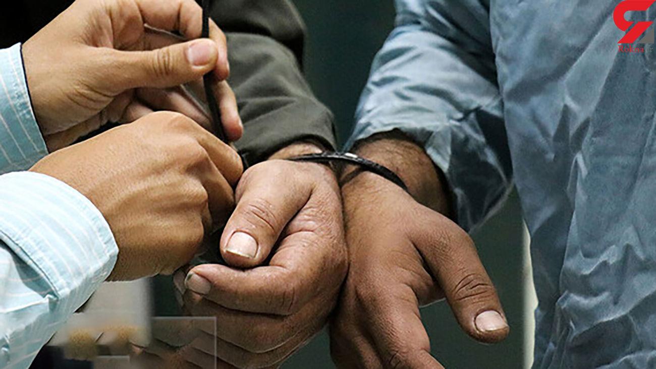 دستگیری سارقان مسلح در عنبرآباد