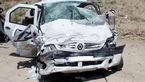 مرگ یک زن در تصادف خونین جاده ای