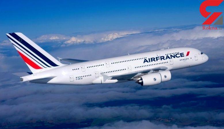 روسیه به هواپیمای مسافربری فرانسه اجازه عبور نداد