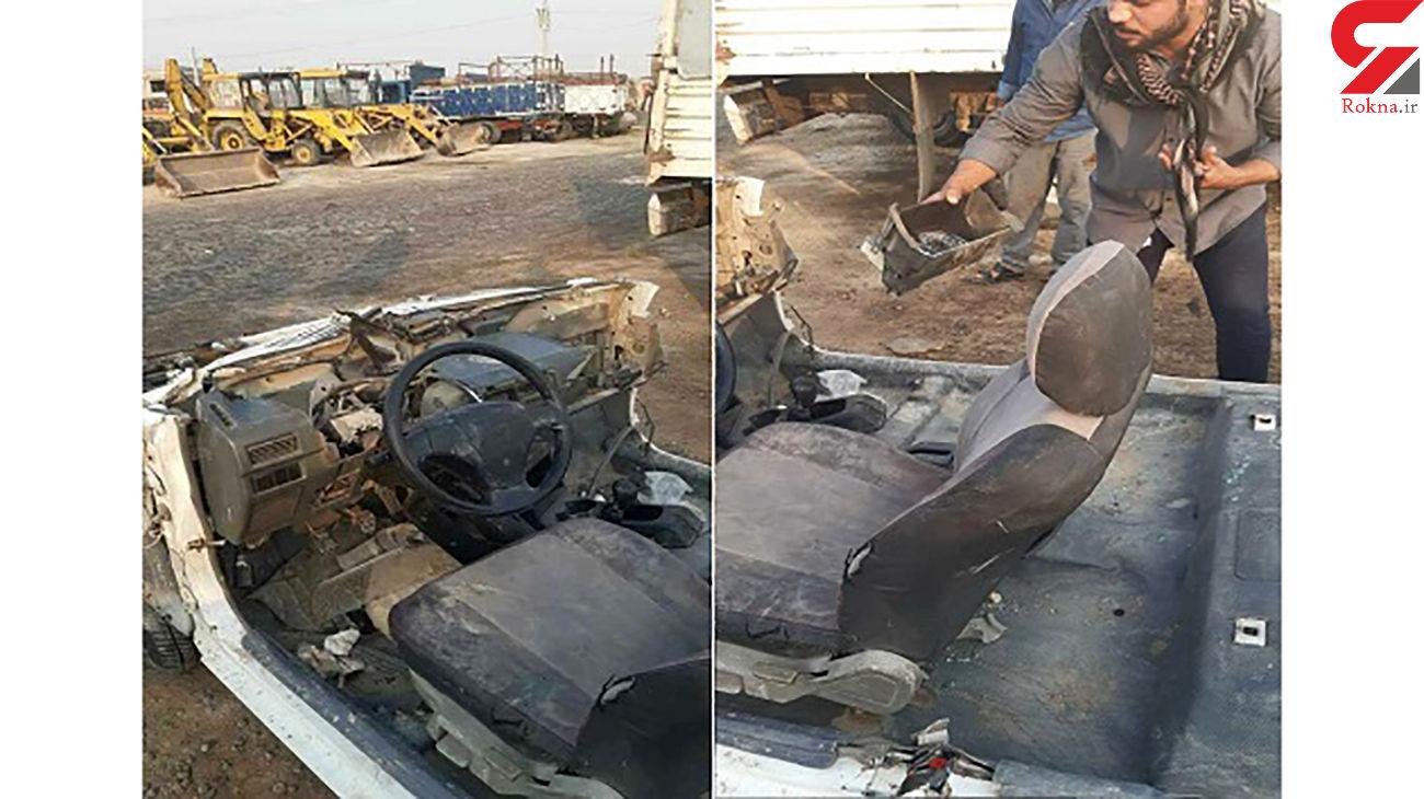 بازداشت رییس آتش نشانی خرمشهر به جرم سرقت خودروی شهرداری / خودرو اوراق شد + عکس